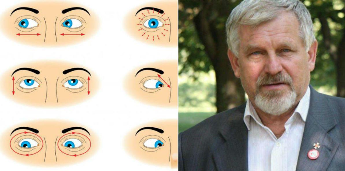 nyaki gyakorlatok a látás javítása érdekében