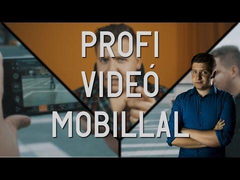 profi videó észlelési táblázatok