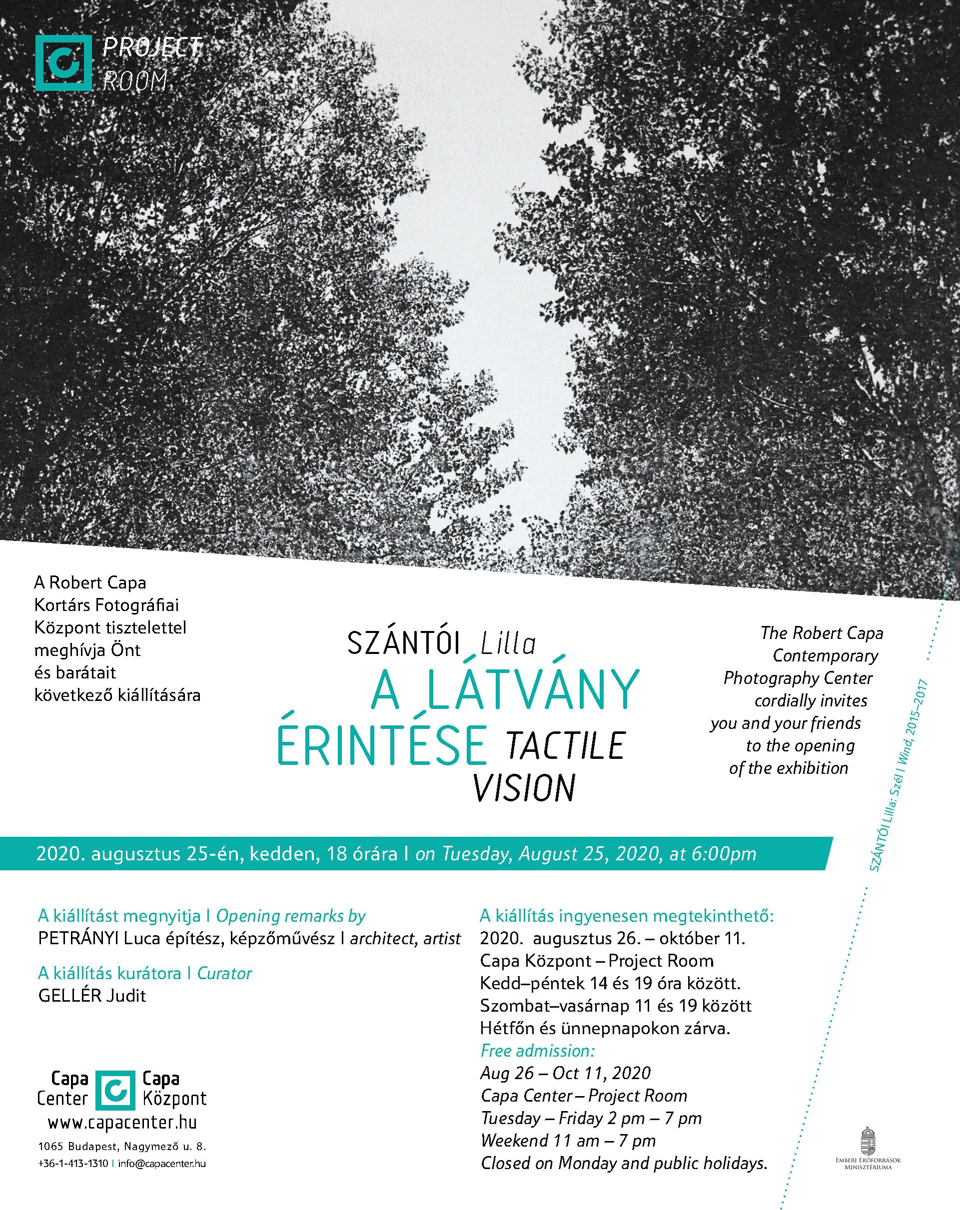 hopehelycukraszda.hu : Kiállítás : Programajánló : Szántói Lilla: A látvány érintése