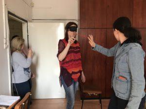 gyakorlatok látássérült emberek számára delfin milyen látomás