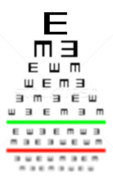 töltse le a látásteszt diagramot