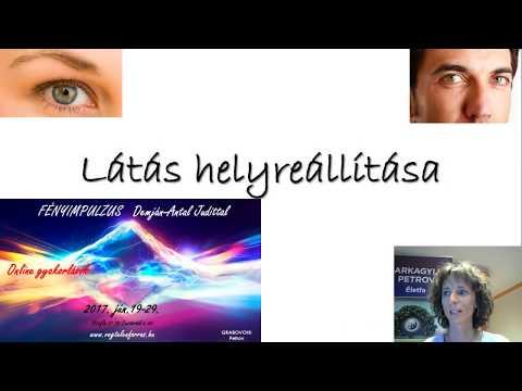 videó a látás helyreállítási technikáiról