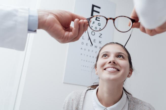 rossz látású tanuló