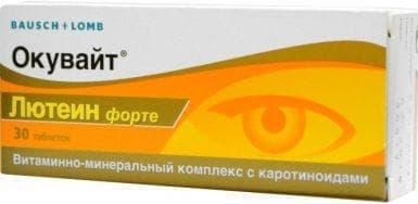 vitamin komplexek a látás javítása érdekében