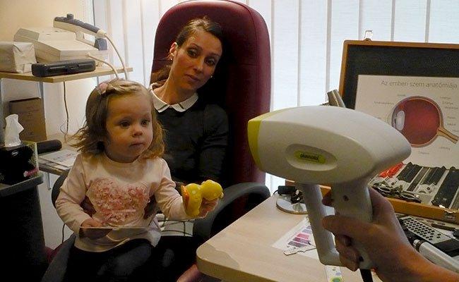 szemész gyermekek számára