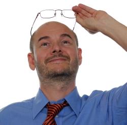 a látását gyógyító ember