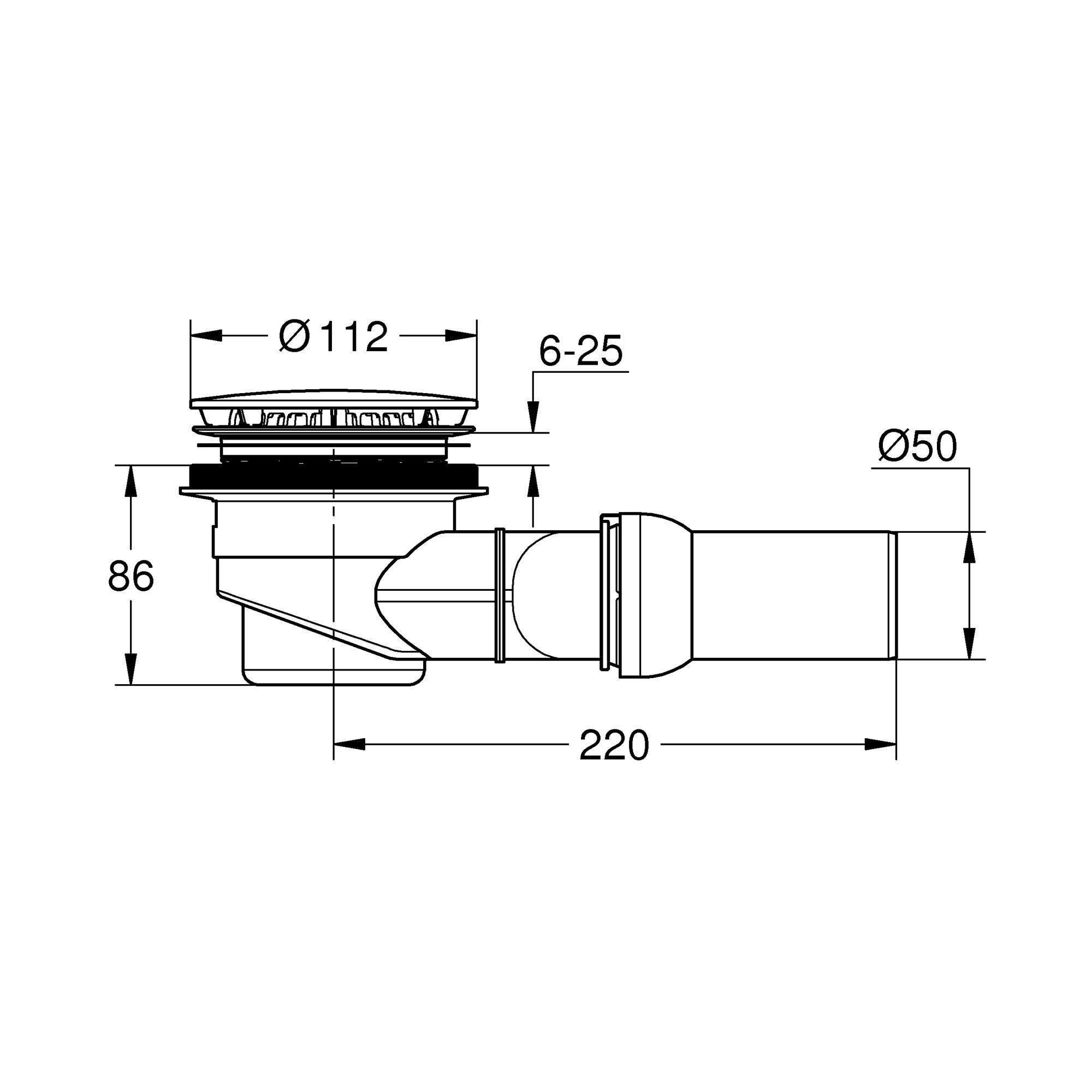 kiterjesztett kar látásvizsgálati diagram