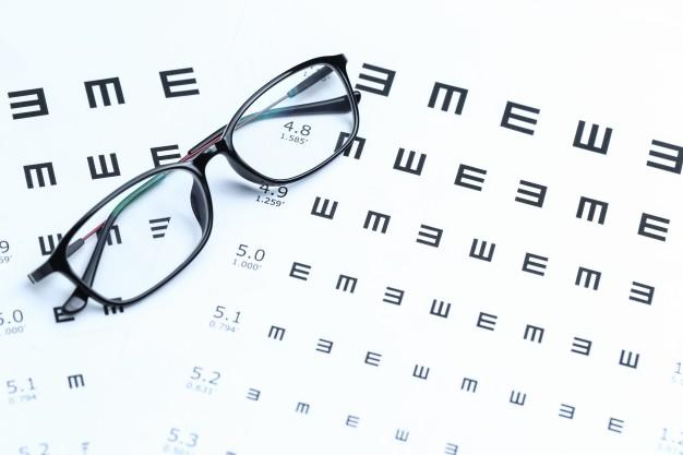 látásellenőrzés 3 látás jelenik meg fehér foltok