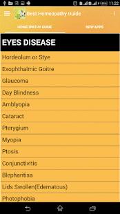 myopia homeopátiás