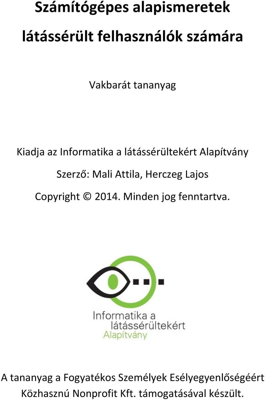 mappa mozgó látássérülés