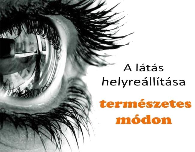 lehetőségek a látás helyreállítására gyengénlátó emberek élete
