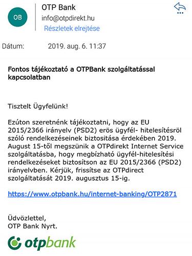 OTP Bank - Adathalászat