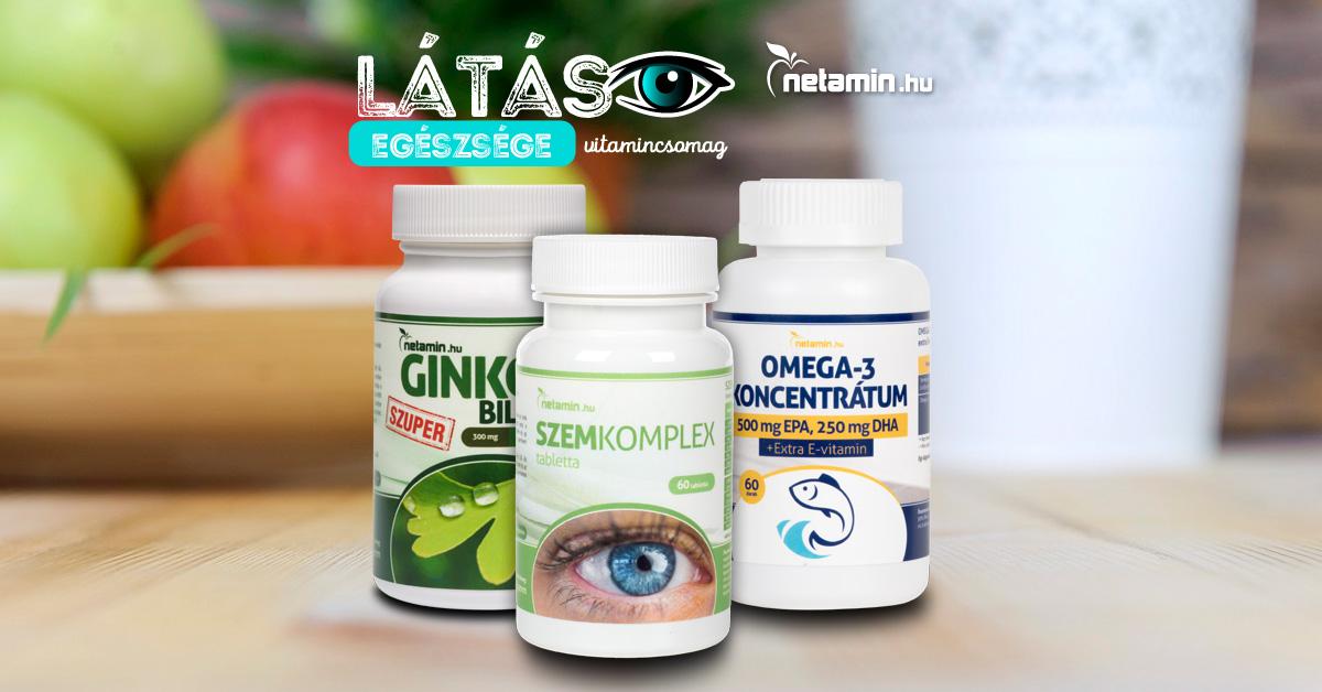 hogyan lehet vitaminnal javítani a látást átmeneti látásromlás