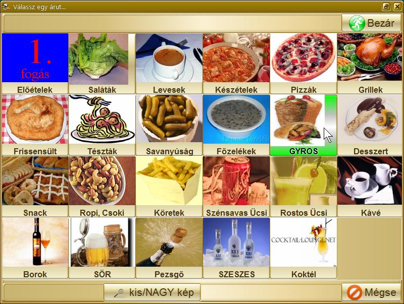 kudrishova látás étele