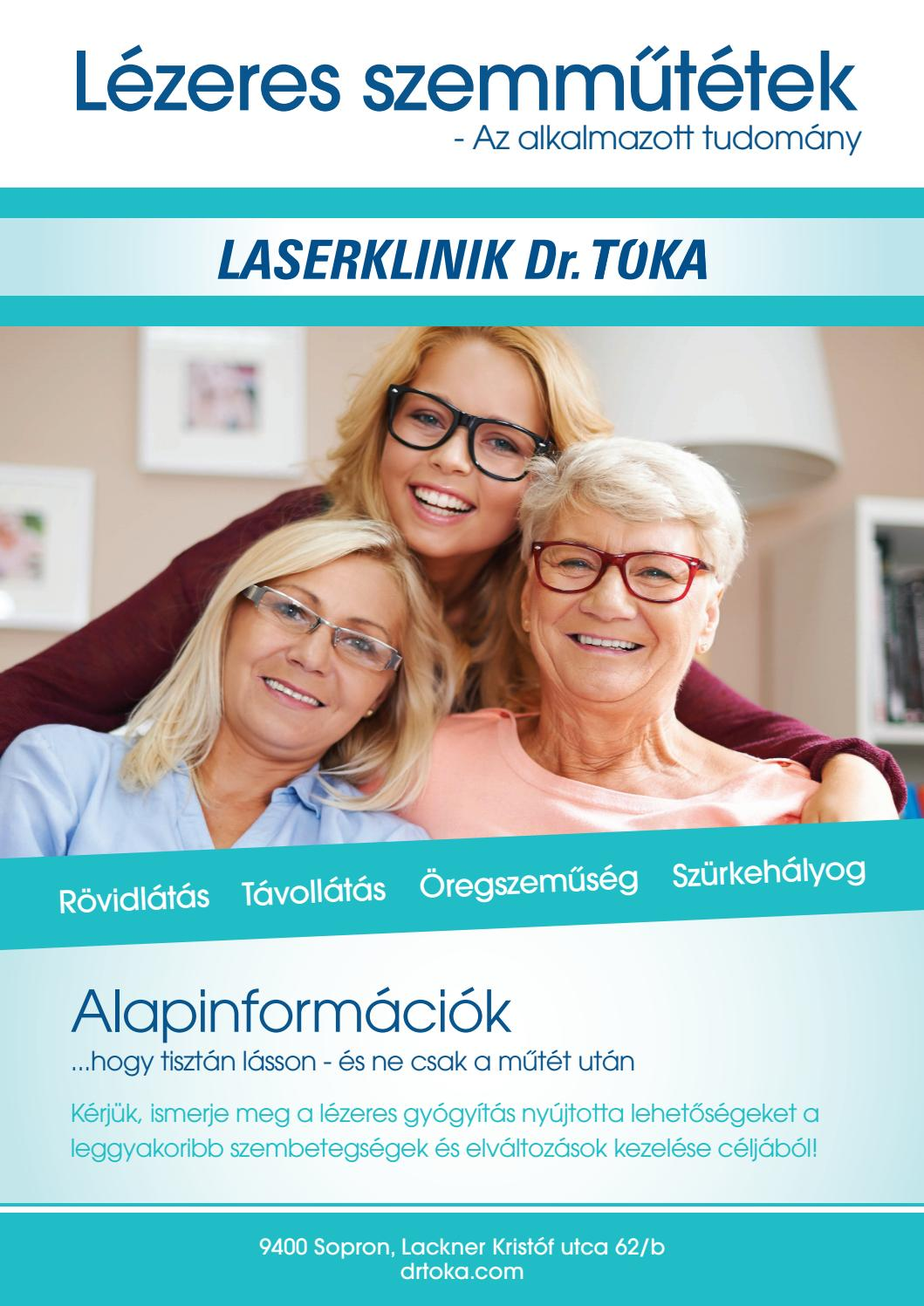 lézeres műtét a látás javítása érdekében