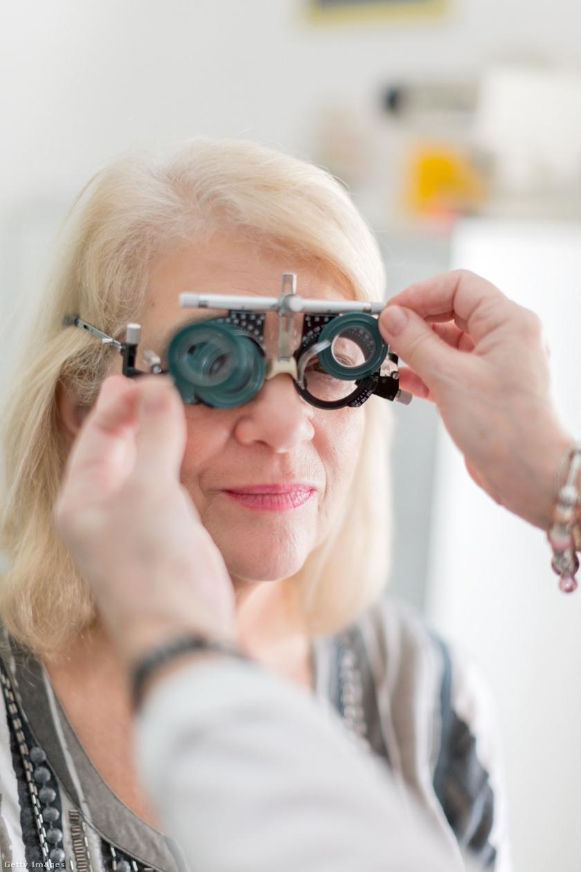 látásfunkció látásromlással