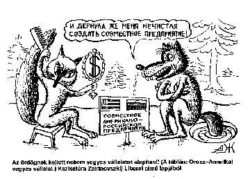 hogy Zsirinovszkijnak van látomása