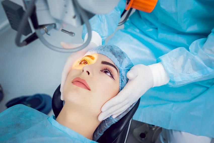 műtét 5 látással
