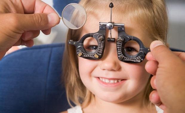 gyermekek látásvizsgálata