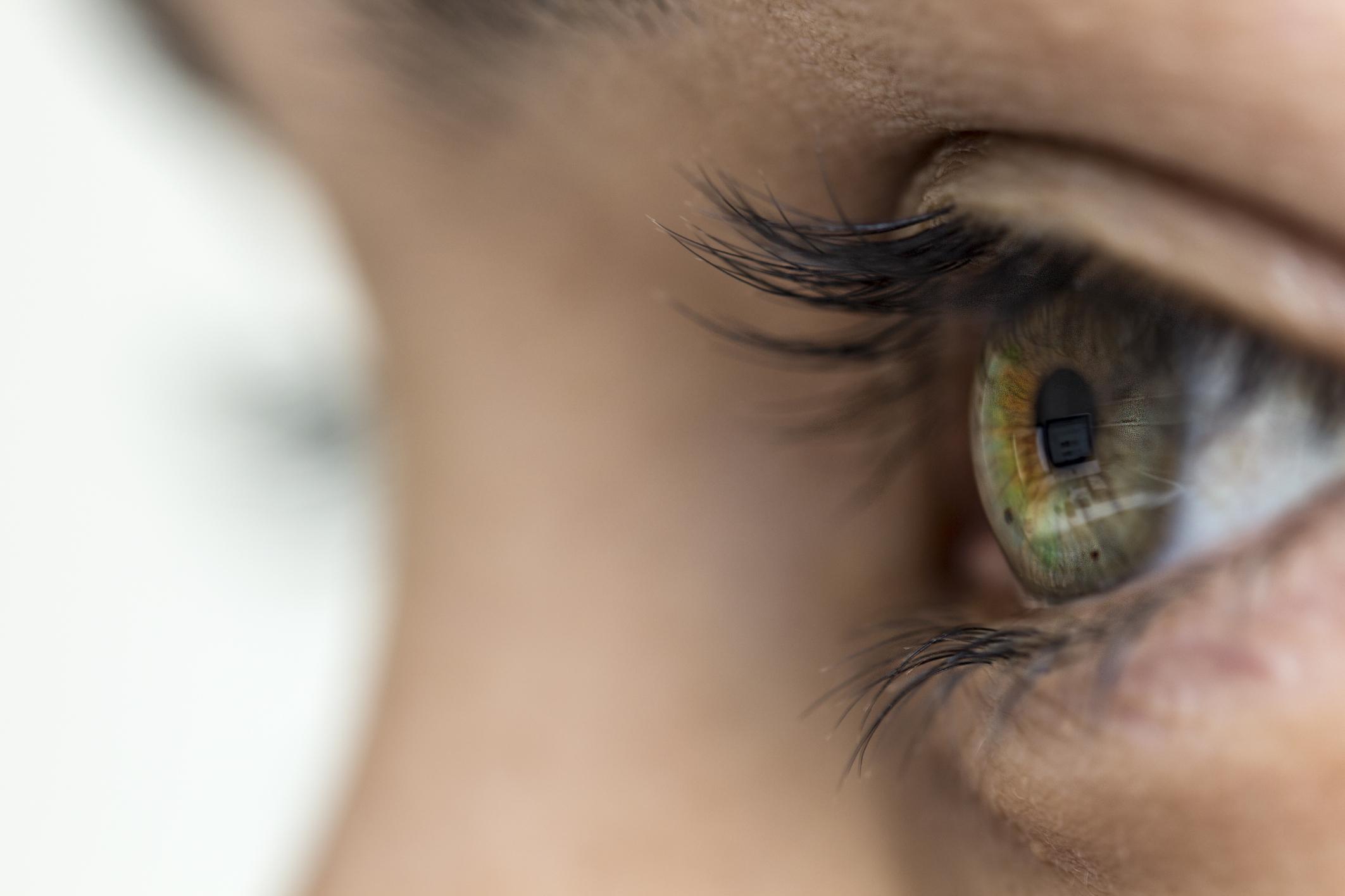 gömb alakú emberi látás