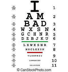 a látásra rossz