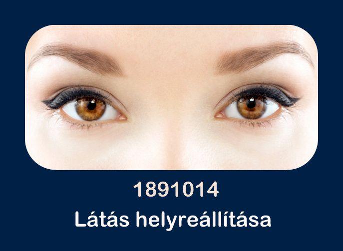 kék jód a látáshoz elveszíti az egyik szem látását