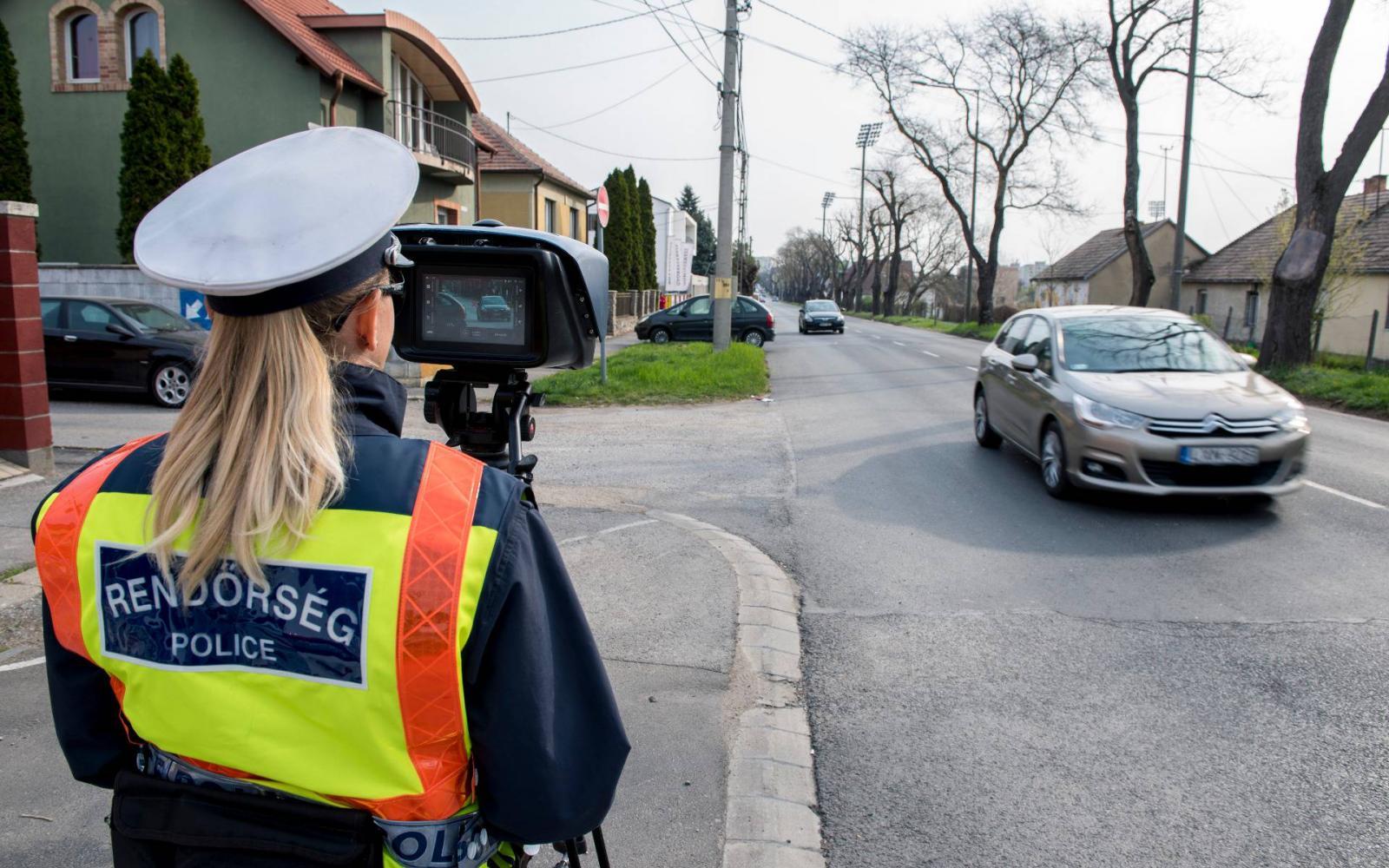 a rendőrök látása