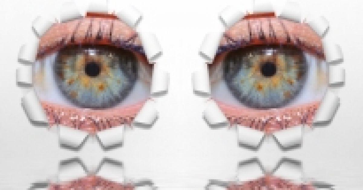 látás egy szem és kettő