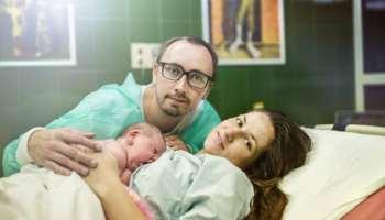 természetes szülési és látási problémák