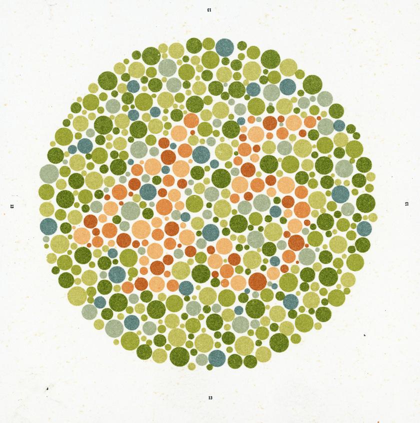 látásvizsgálat színvakság online