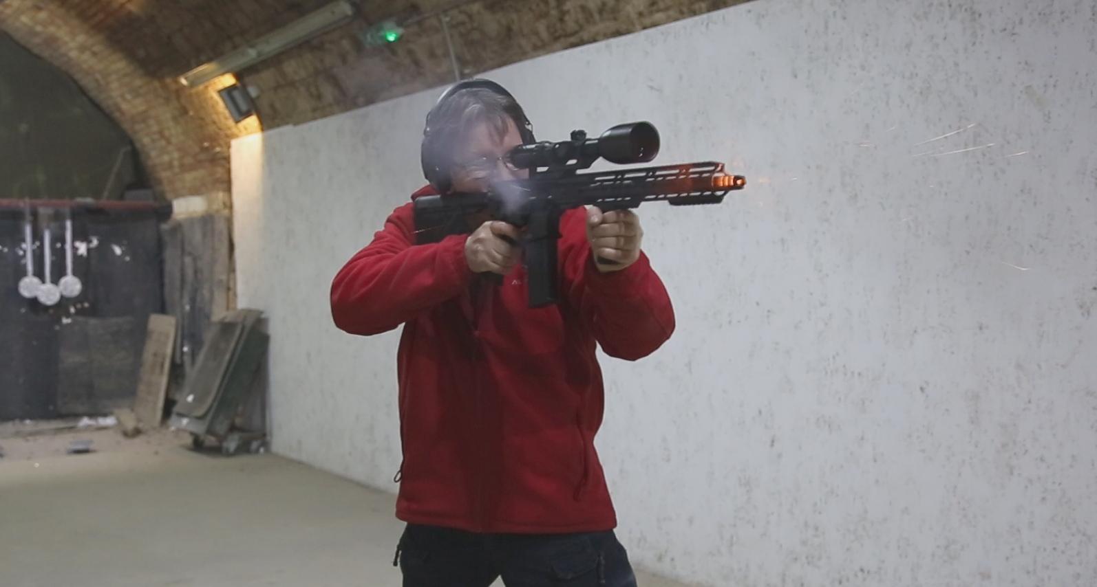Látási program lőtér
