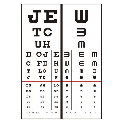 látásélesség 0 6 látás németül