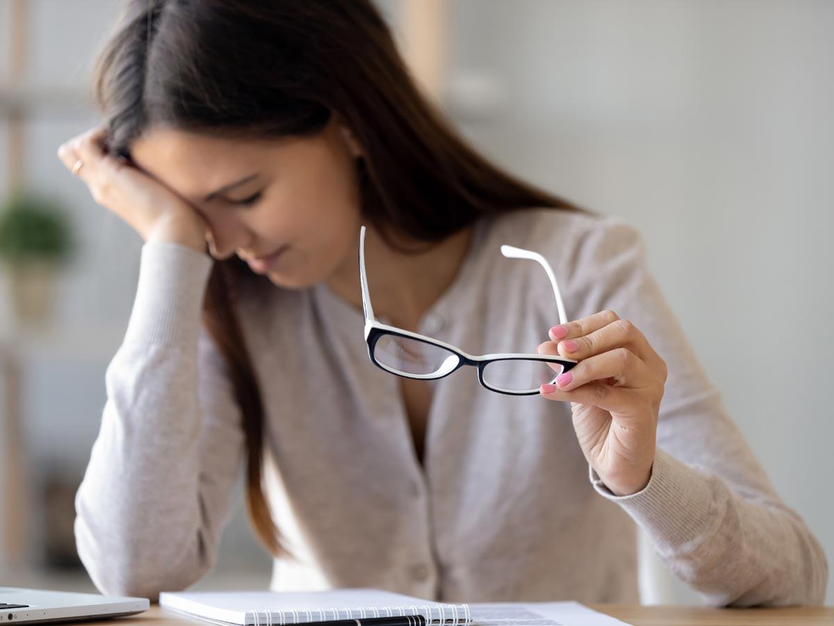 vakfolt a látáshoz homályos látás a kezelés közelében