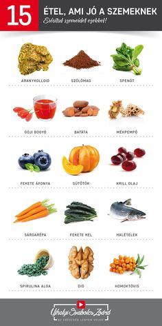 A legjobb ételek a tökéletes látásért | Well&fit Jobb látási étel