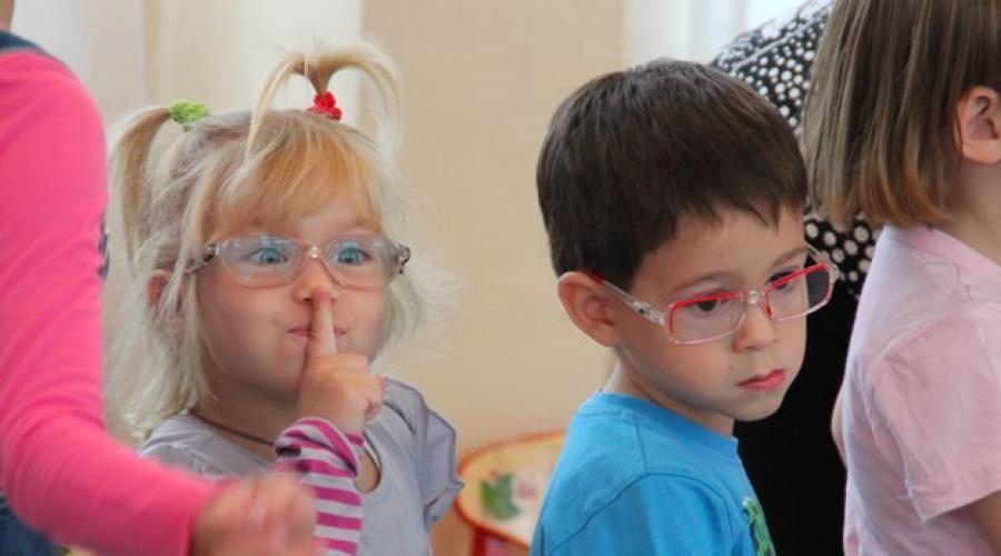 Рубрика: Lecke a látássérült gyermekek látásfejlesztésének fejlesztéséről