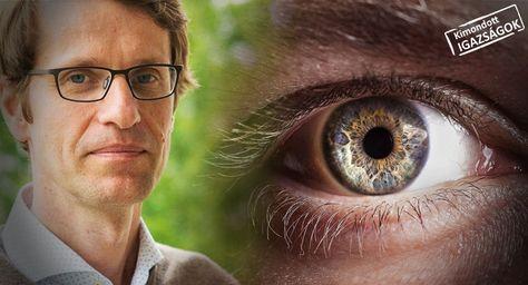 az egyik szem látóvonalainak torzulása