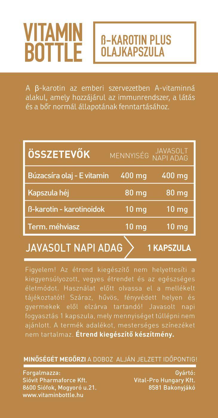 Miért fogyasszon minden nap karotinoidokat? » VitakingShop webáruház
