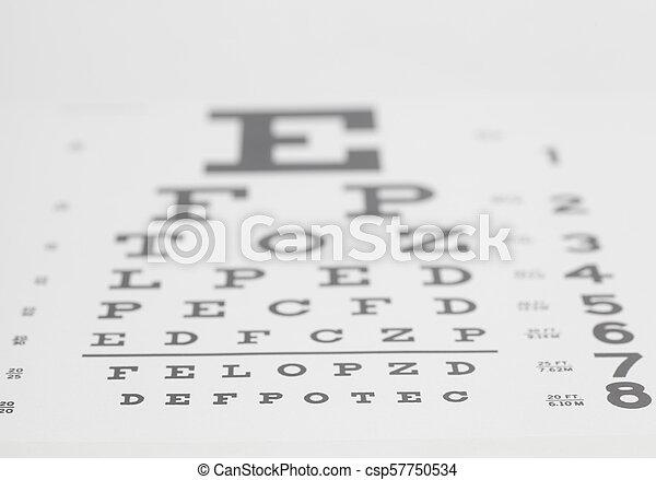 a látásélesség tesztje az asztalok mögött)