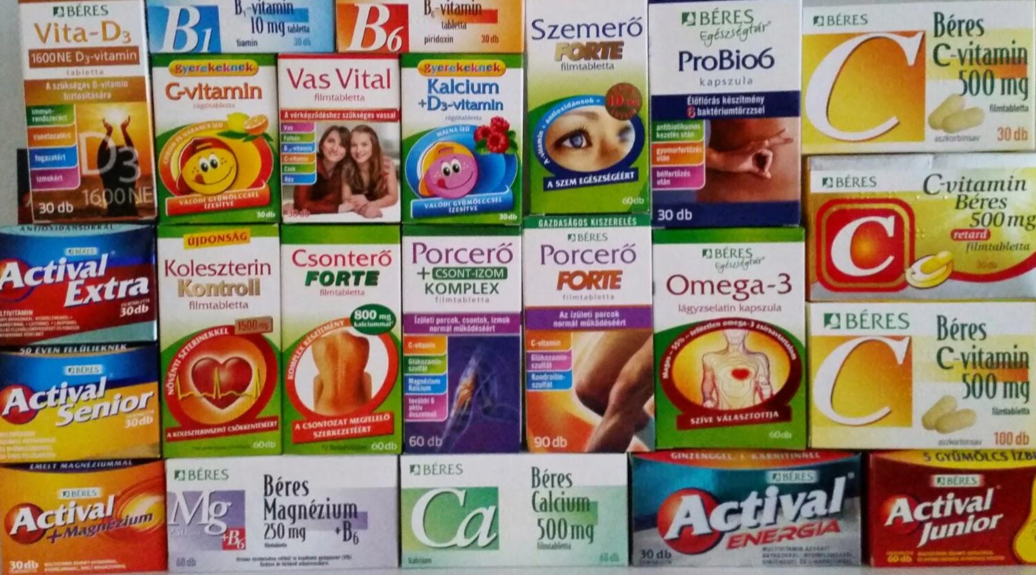 vitaminok a látáshoz csepp tabletták